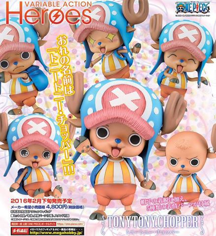 One Piece: Tony Tony Chopper Variable Action Figure